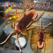 ぎゃぁ~~!!超リアル!!本物そっくりのイミテーションゴキブリ4匹