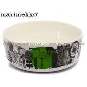 Y) 【マリメッコ】 シイルトラプータルハ ボウル 1.5L 食器 雑貨 ホワイト/ブラック/グリーン