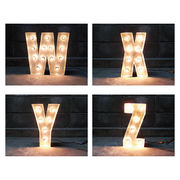 SIGN WITH LIGHT 「W~Z」