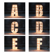 SIGN WITH LIGHT 「A~F」
