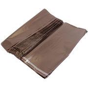 ビニール宅配袋 大 Lサイズ ブラウン テープ付き透けない 宅配袋 梱包資材 vin4
