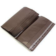 ビニール宅配袋 小 Sサイズ A4 ブラウン テープ付き 透けない 宅配袋 梱包資材 vin2