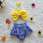 水着 女の子 子供 ミズギ ビキニ スイムキャップ付き2点セット ベビー可愛い 赤ちゃんBABY 温泉ビーチ夏
