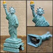 アンティークシャープナー 鉛筆けずり ♪ レトロ  自由の女神♪