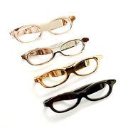 メガネ型クリップ ブローチ ネクタイピン 全4色