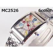 MontresCollectionレディース腕時計 メタルウォッチ 日本製高性能省電力ムーブメント 電池寿命4年以上