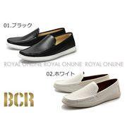 【BCR】 BC-722 パンチングカジュアルスリッポン カジュアル シューズ 全2色 メンズ
