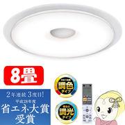 アイリスオーヤマ LEDシーリングライト FEIIIシリーズ 8畳 調光・調色 CL8DL/S-FEIII 「快眠モデル」・