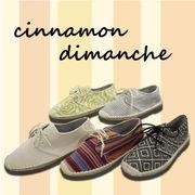 【cinnamon dimanche】ジュート☆スニーカー♪♪DS60