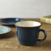 ボードー 13.5cmマグカップ/スープカップ ディープブルー[美濃焼]