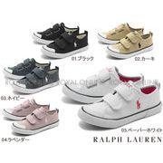 【ラルフローレン】 チャイルド カムデン EZZ マジックテープ スニーカー 全5色 キッズ&ジュニア