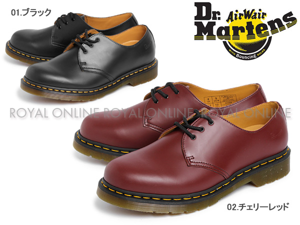 S) 【ドクターマーチン】 1461 3アイ ギブソン 全2色 メンズ&レディース