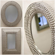 【SALE/値下げ】エレガンテ デコレーションミラー オーバル・レクト♪【Elegante Decoration Mirror】