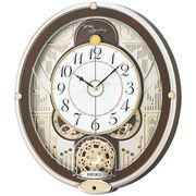 【新品取寄せ品】セイコークロック 電波からくり掛時計RE577B