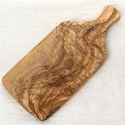 オリーブ木 まな板 ノーマル 大 42CM