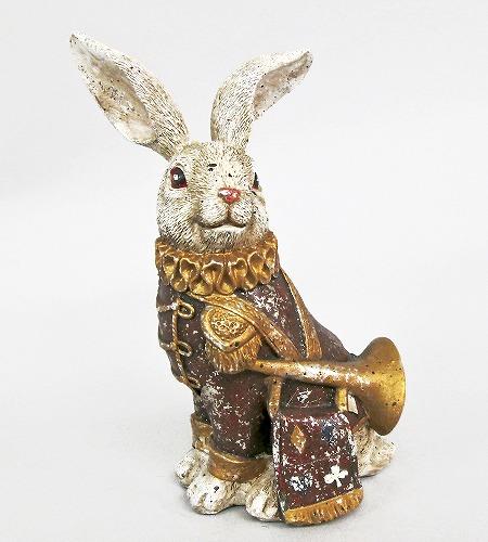 <AMANO>【レジン製ウサギ】トランプラビット・SIT