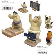 【和雑貨/日本/お土産】はっけよい雑貨 力士スマホストッパー&スタンド/相撲/おすもうさん