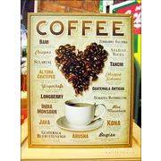 アメリカンブリキ看板 コーヒー ブランド銘柄