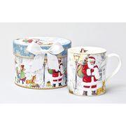 【ウインターフェアセール!】【クリスマス】【ギフトショートマグ】サンタ