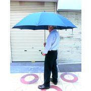 【雨傘】【紳士用】【長傘】耐風構造骨・高密度撥水生地・特大手開き雨傘