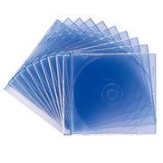 サンワサプライ DVD・CDケース(クリアブルー) FCD-PU10BL