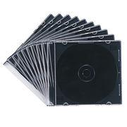サンワサプライ DVD・CDケース(マットブラック) FCD-PU10MBK