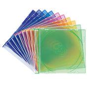 サンワサプライ DVD・CDケース(5色ミックス) FCD-PU10MX