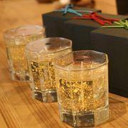 【バラ出荷可能】kou × Kanazawa 金箔キャンドル Gold Candle