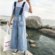 2017♪☆品質自信あり☆ハングルセレブstyle 学院風 ワンマイルウェア 連体式  パンツ  7july-ray-6020
