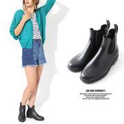【SALE】サイドゴアレインブーツ/シューズ/長靴