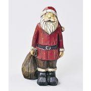 【ウインターフェアセール!】【クリスマス】【木彫り風サンタ】2種