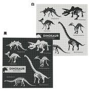 《文具》草食恐竜 ブロックメモ/モノトーン