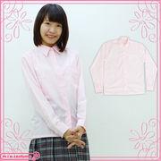 1234H■MB■送料無料■ 長袖シャツ単品 色:ピンク サイズ:M/BIG