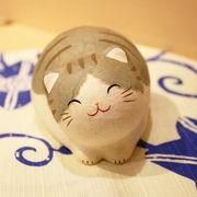 ちぎり和紙 にっこり丸猫