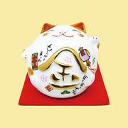 (磁)丸猫 貯金箱