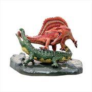 《フィギア》スピノサウルス vs サルコスクス ダイナソー