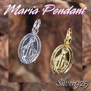 マリアペンダント-2 / 4015-4016--1805 ◆ Silver925 シルバー ペンダント チャーム マリア