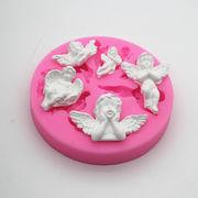 激安☆製菓★フォンダン★アロマストーン★DIYモールド★手作り石鹸★石膏★チョコ★アロマ★天使