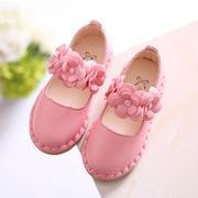 2017年新作【子供靴】★可愛いデザイン&シューズ★ピカピカ皮靴★女の子★3色★