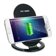 ワイヤレス充電器 ワイヤレスチャージャー Qi充電パッド 無線充電器 無接点充電 置くだけ充電