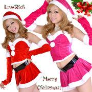 0906森の妖精サンタコスチューム5点セットクリスマス  コスプレ  サンタクロース