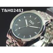 T&Hユニセックス腕時計 メタルウォッチ 日本製ムーブメント