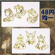 アンティークパーツ 大型空枠 シンデレラパーツ プリンセスパーツ 童話の世界雑貨