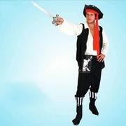 格安!仮装★ダンス衣装★ハロウィン★cosplay★海賊★帽子+シャツ+靴付ズボン+ベルト