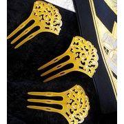 ◆和装小物◆ ヘアアクセサリー   透かし雲紋  扇型簪