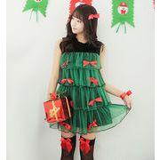 クリスマスツリー コスチューム クリスマス衣装 仮装 ハロウィン レディース