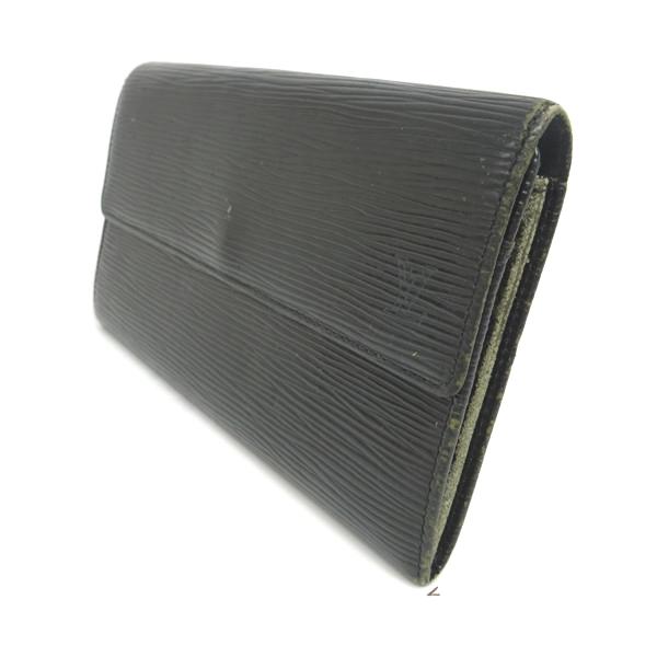 new concept 71457 be309 ルイヴィトン 財布 二つ折り 長財布 エピ メンズ レディース 黒 ...