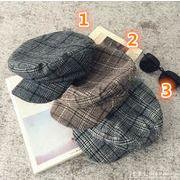 韓国風帽子★秋冬新しいスタイル★ベレー帽★男女兼用 ファッション鳥打ち帽.