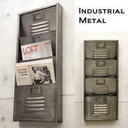 【Industrial Metal】男前インテリア★インダストリアル ウォール レターラック4★