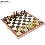 チェス盤セット★二つ折り【木製/ボードゲーム/雑貨】
